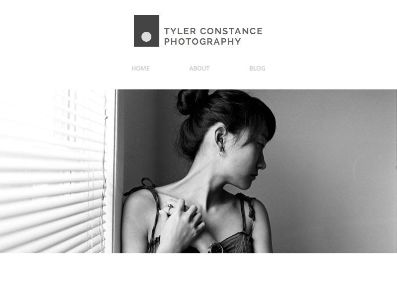 Tyler Constance Photography Logo